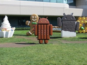 Android statue park at Google